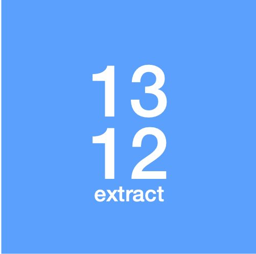 13in12 extract